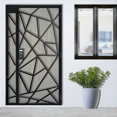 Photo of Modern Design Mild Steel Gate SMG-08 4FT*7FT