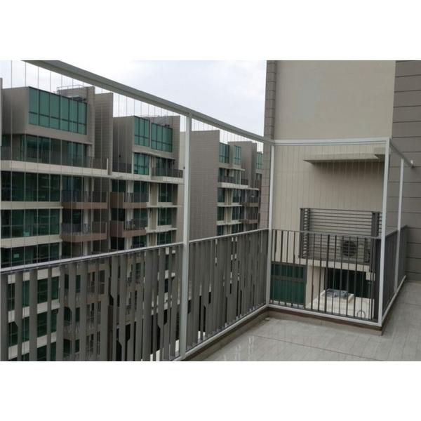 Reservation of 316 Stainless Steel Fix Panel With Frame Invisible Grille