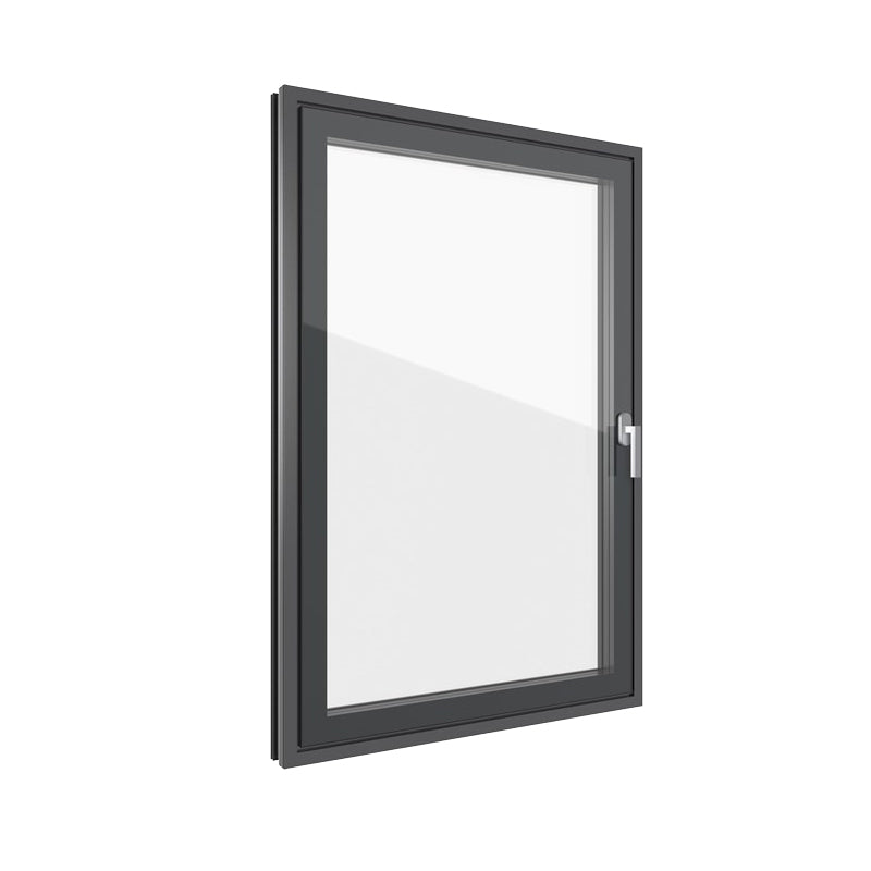 Aluminium Black Frame Casement Window