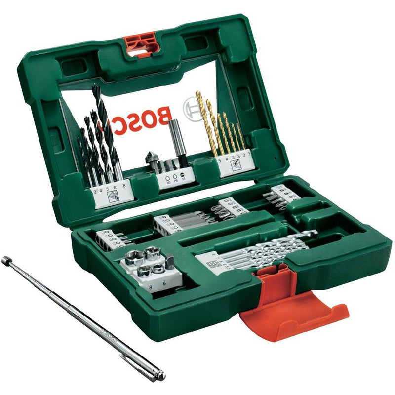 Bosch Bit Set 48Pcs Tin Drill & Screw