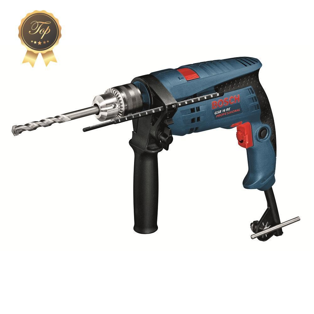 RENT - Bosch GSB 16 Re (Set) 750W, Impact Drill