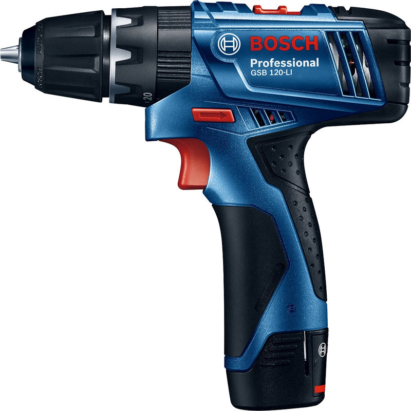 Photo of Bosch GSB 120-LI Cordless Impact Drill/Driver with 41-piece Drill Bit Set