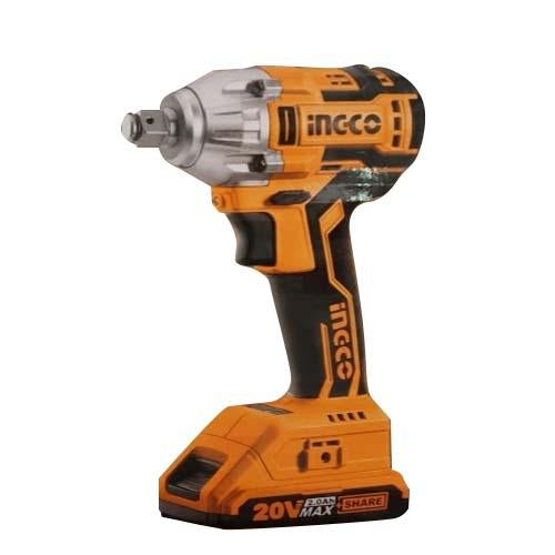 Ingco CIWL2001 Li-Ion Cordless Impact Wrench 20V With Accs