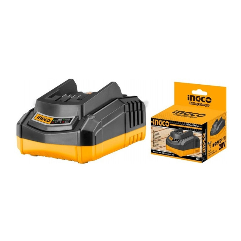 Ingco FCLI2001 Battery Charger 20V 110-250V 50/60Hz