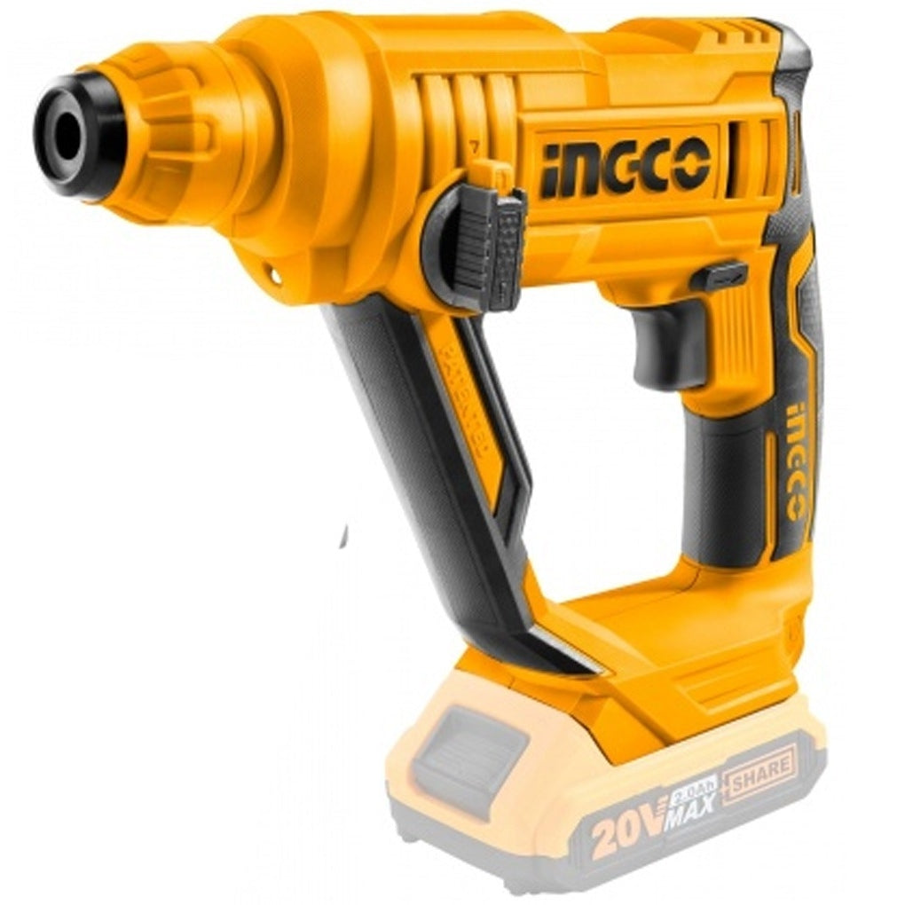 Ingco Li-Ion Rotary Hammer Drill 20V (Bare Unit)