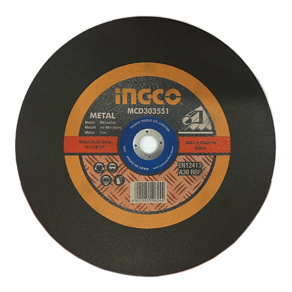 Ingco  Abrasive Metal Cutting Disc