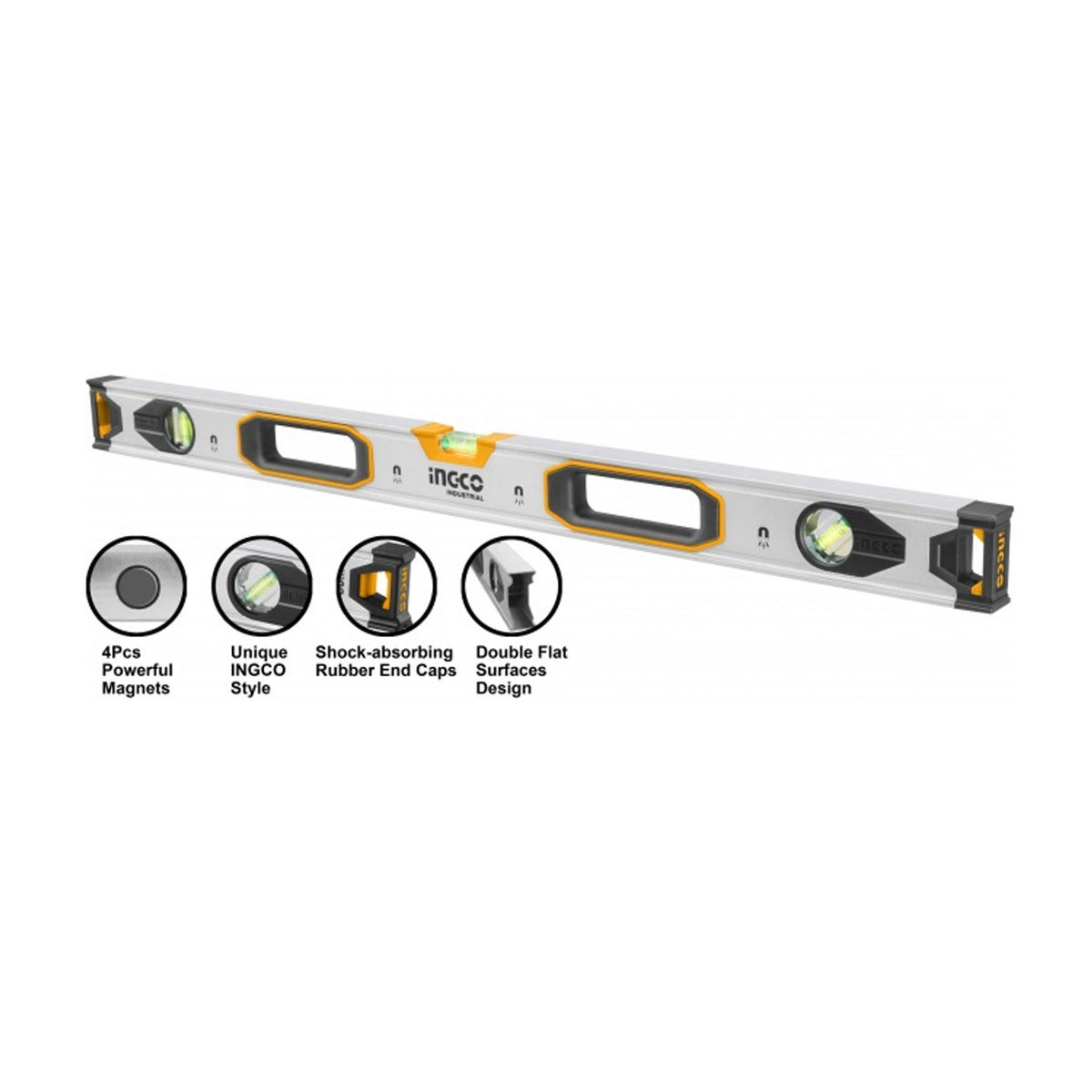 Ingco Magnetic Spirit Level 100Cm