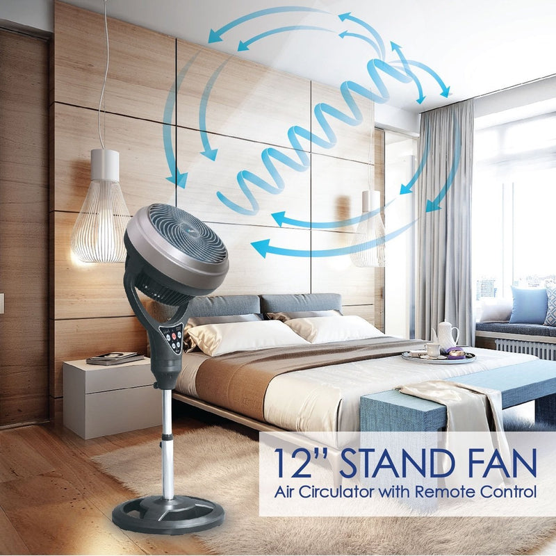 "iFan 12"" Air Circulator Stand Fan (IF9669)"
