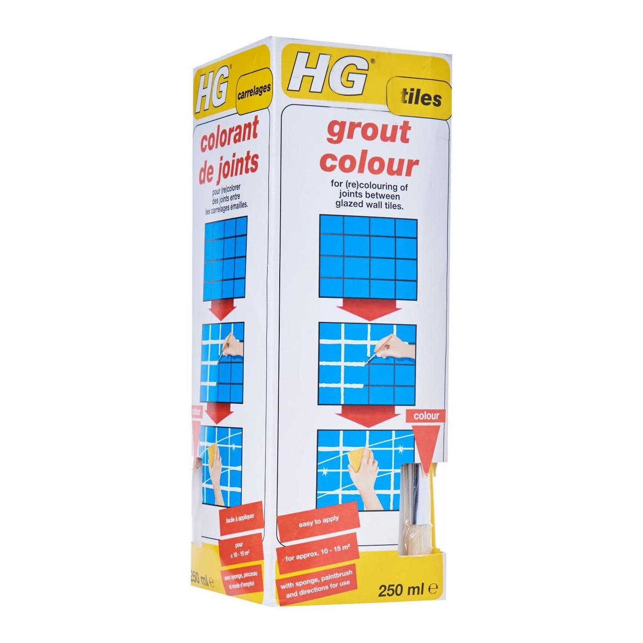 HG Grout Colour White 250Ml