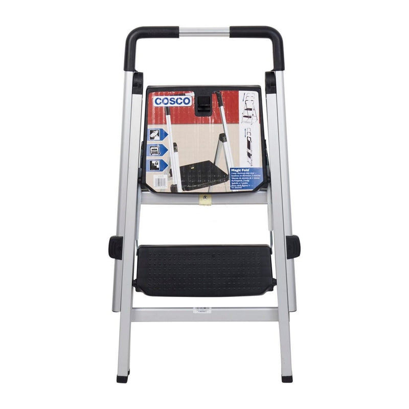 Photo of Cosco SL-5073 Magicfold 2-Step Aluminum Ladder