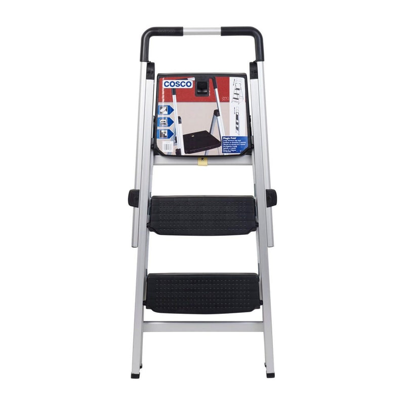 Photo of Cosco SL-5070 Magicfold 3-Step Aluminum Ladder