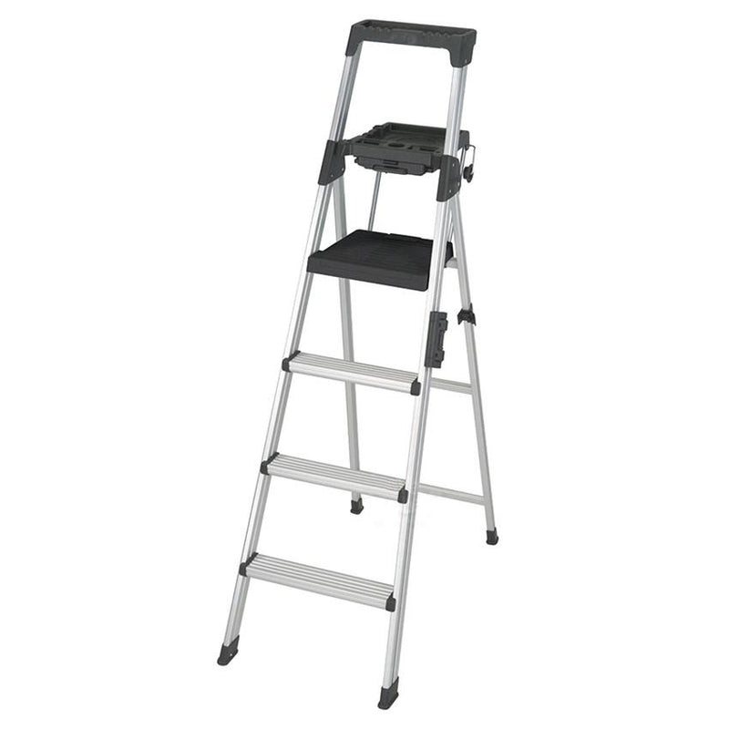Rent Hailo L60 Aluminium Safety Ladder 8 Steps Homefix