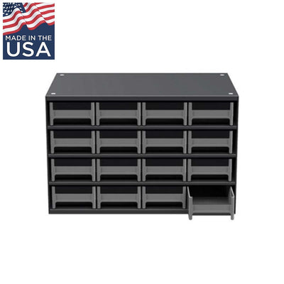 AKRO-MILS 19-Series Steel Cabinet with 16 Drawers