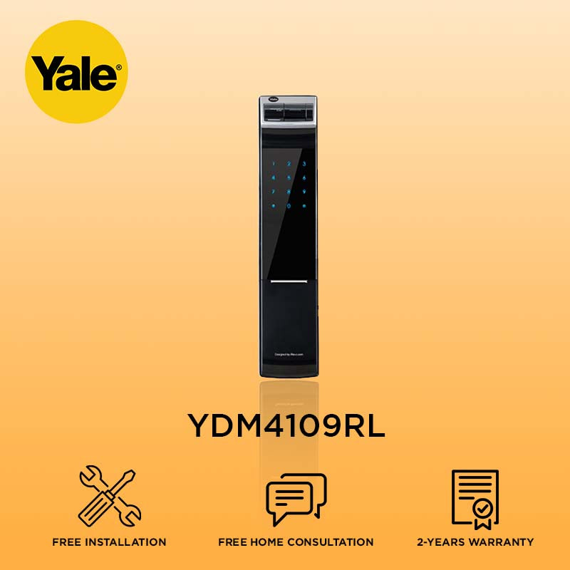 Yale Biometric Digital Door Lock YDM4109RL