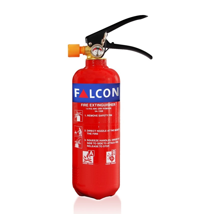 Falcon 2Kg ABC Dry Powder Fire Extinguisher