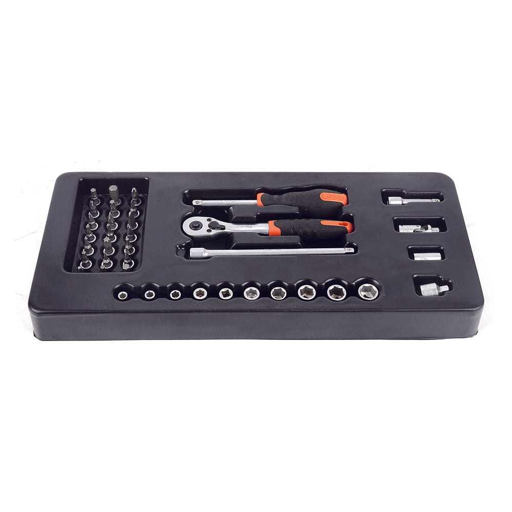 "RENT - Tactix Dr.Socket Set 1/4"" (38Pcs)"