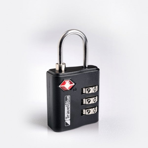 Travel Blue TSA Lock - Coal Black