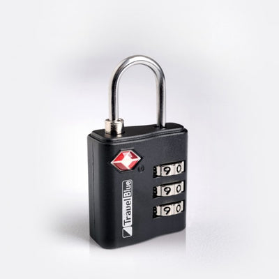 Photo of Travel Blue TSA Lock - Coal Black
