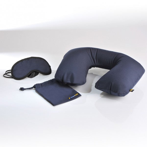 Travel Blue Sleep Set - Steel Blue