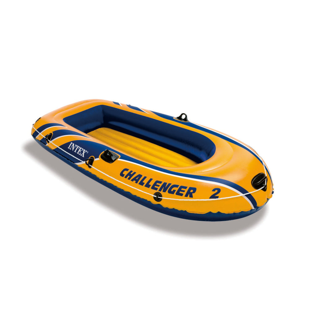 Intex Challenger 2 Inflatable Boat Set