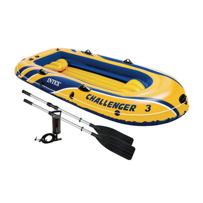 Photo of Intex Challenger 3 Inflatable Boat Set
