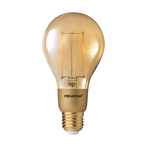 Megaman Dim  LED Gold Filament Classic A75