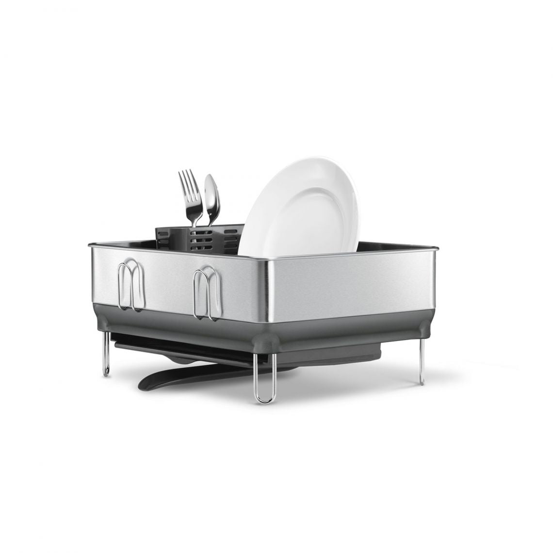 Photo of Simplehuman Steel Frame Dish Rack (Stainless Steel)