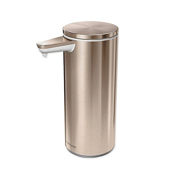 Simplehuman Rechargeable Sensor Pump Rose Gold