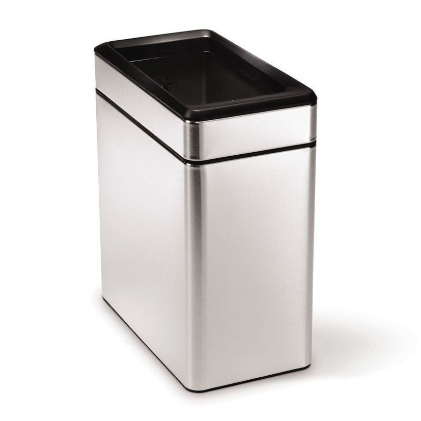Photo of Simplehuman Profile Open Can 10L Brushed