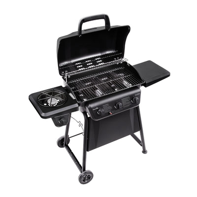 Char-Broil Classic 3-Burner BBQ Gas Grill with Side Burner