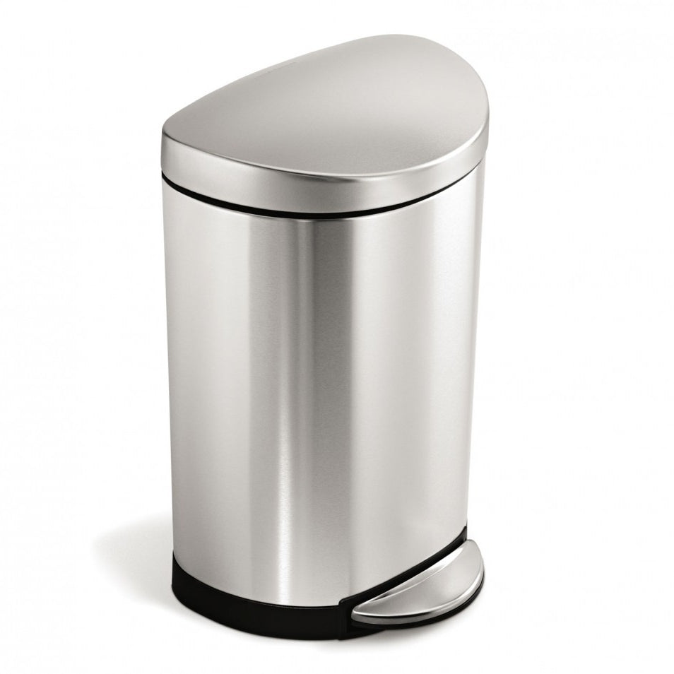 Simplehuman Semi-Round 10L Step Can