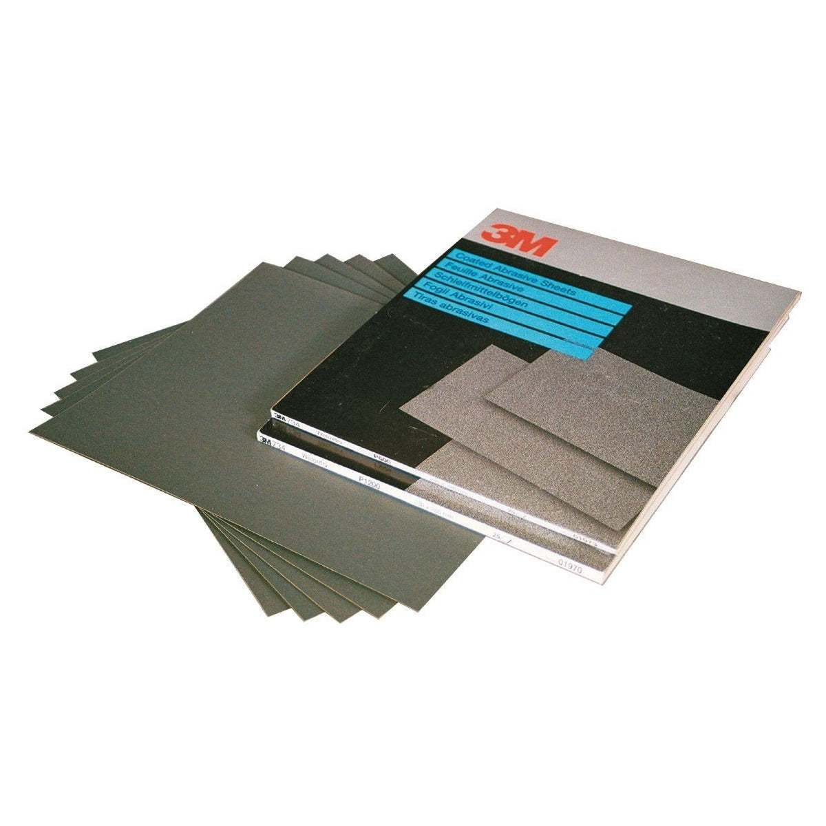 3M Wet and Dry Sandpaper 1200 Grit