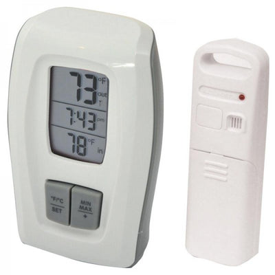 Photo of Acurite Wireless Thermometer w/Clock White