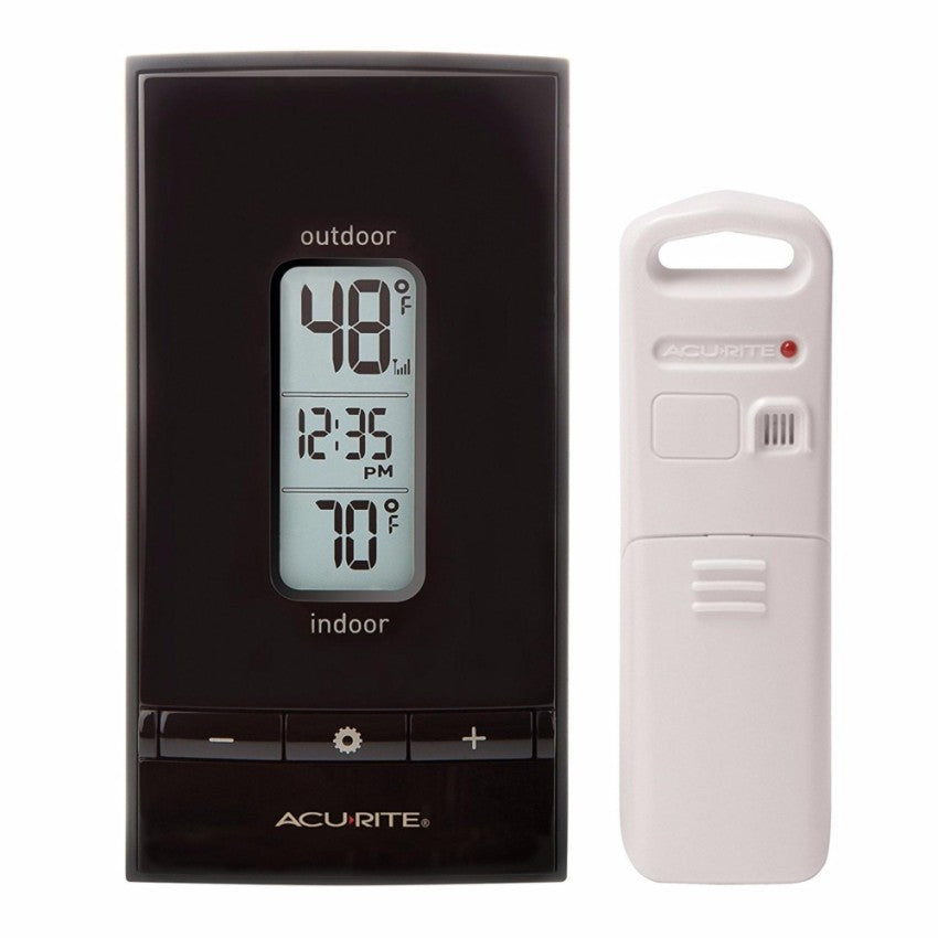 Acurite Wireless Thermometer w/Clock
