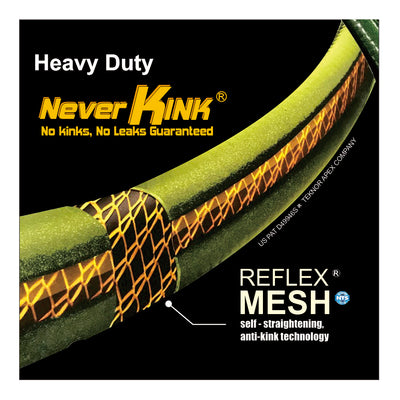 "Greenthumb Neverkink Heavy Duty Hose 5/8"" 100ft"