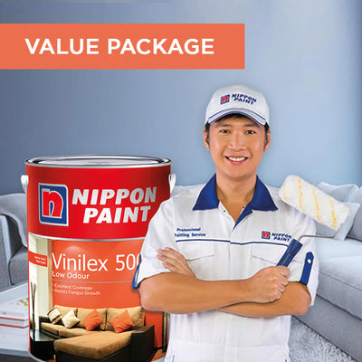 Reservation of Nippon Paint Packages for 2 Bedrooms Apartment