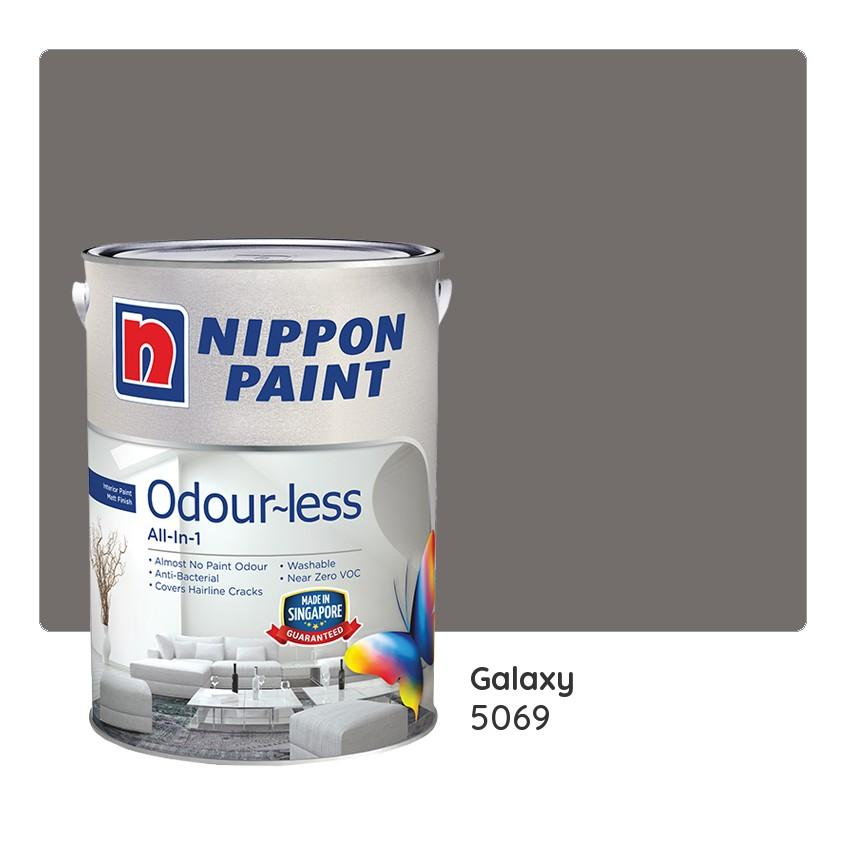 Nippon Paint Odour Less All In 1 5069 Galaxy Homefix