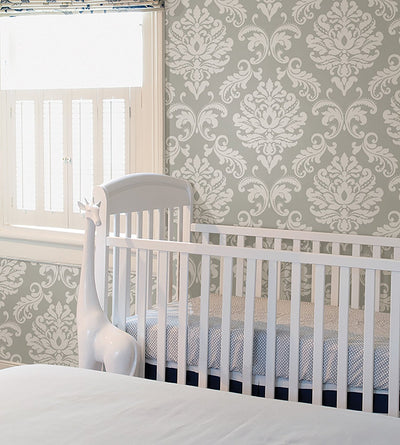 Wall Pops NU1935 NuWallpaper Ariel Grey