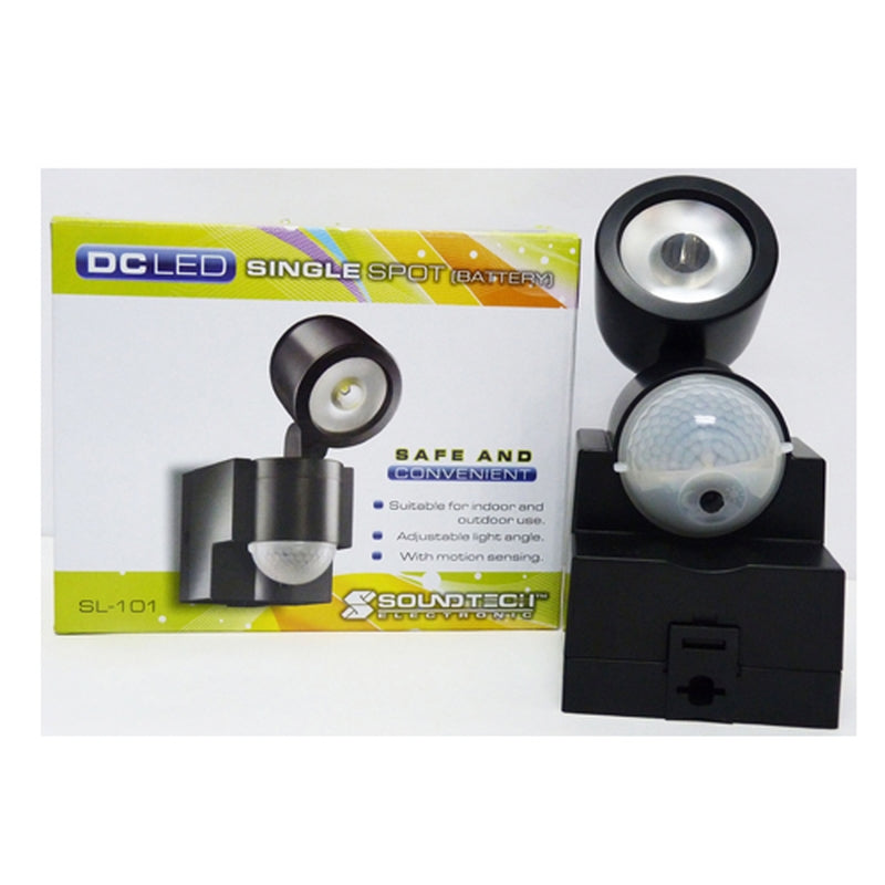 Soundteoh LED Spotlight With Motion Sensor