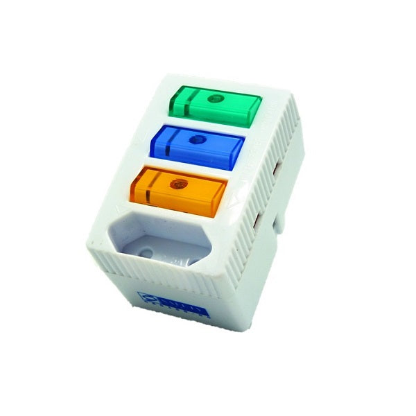 Soundteoh 3+1 Multiway Adaptor With Switch