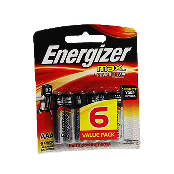 Energizer Max Alkaline Batteries 1.5V AAA