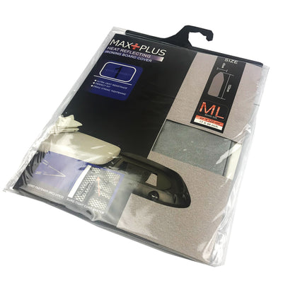 Photo of Maxplus Iron Board Cover Heat Reflect Med/Lg + Iron Rest 43cmx122cm