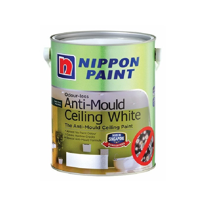 Nippon Odour-Less Anti Mould Ceiling White