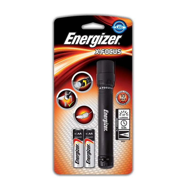 Energizer Led X-Focus Light 2AA With Batteries