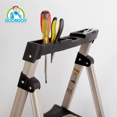 Boomjoy 4 Step Ladder Aluminium Rose