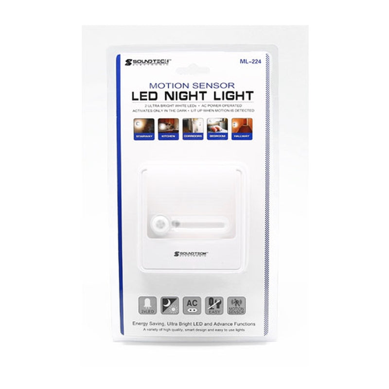 Soundteoh ML-224 Motion Sensor LED Night Light