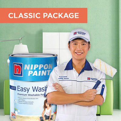 Reservation of Nippon Paint Packages for 3 Bedrooms Apartment