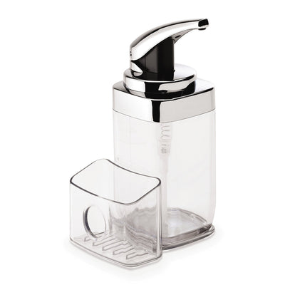 Photo of Simplehuman 22oz Square Push Pump With Caddy