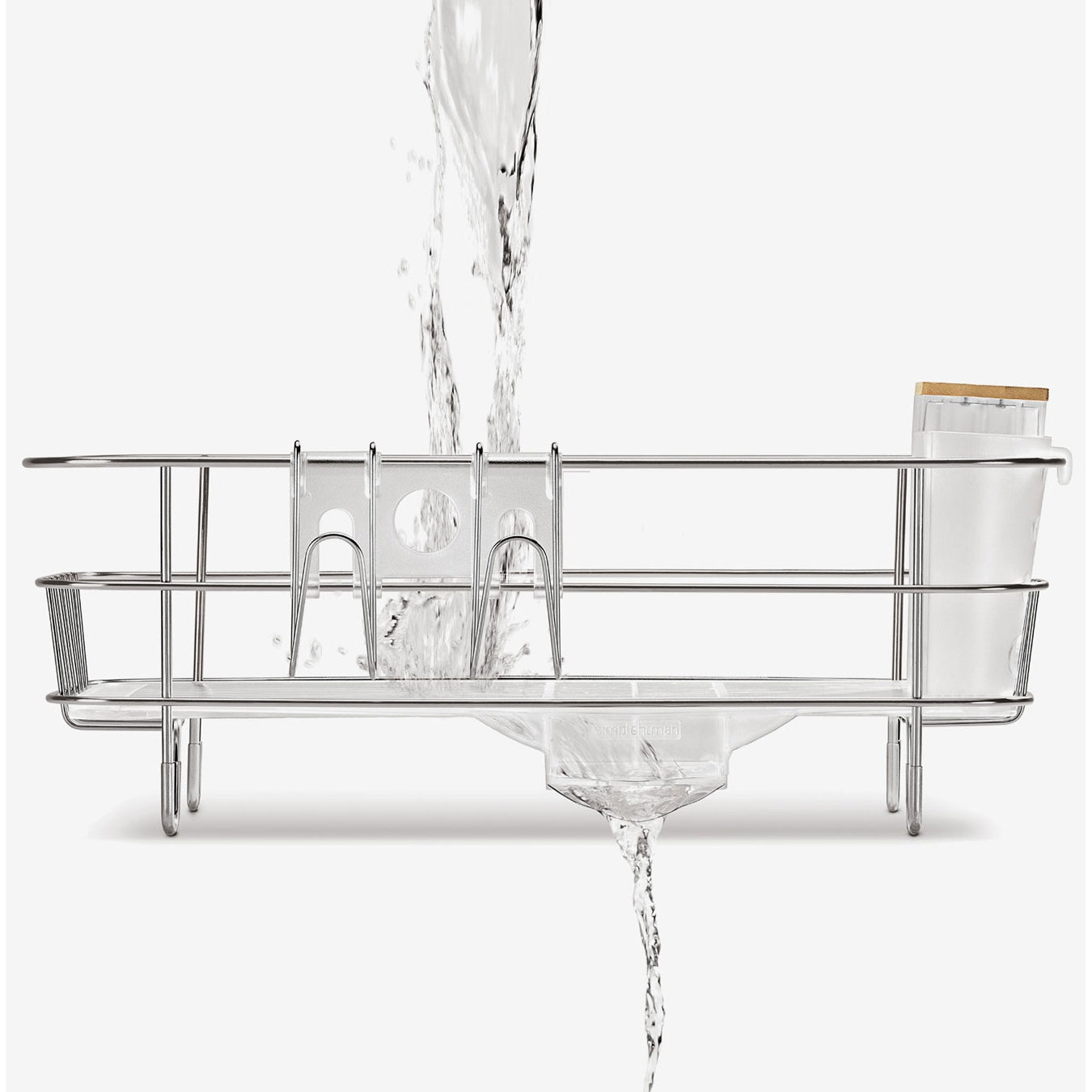 Simplehuman Compact Wire Frame Dishrack - Homefix Online