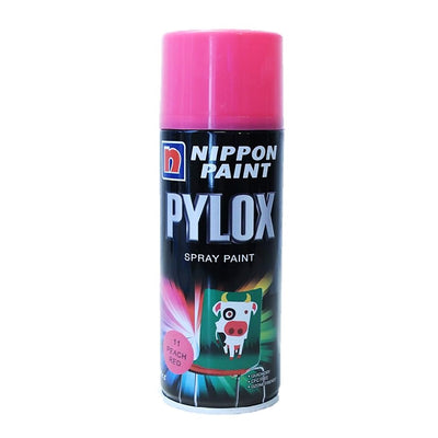 Featured Product Photo Nippon Pylox Spray Paint 11 Peach Red 400Cc